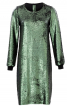 Сукня А-силуету з двобічними пайєтками - фото 2