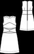 Сукня А-силуету зі штучної замші - фото 3