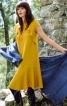 Сукня з воланами у рельєфних швах - фото 1