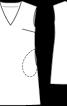 Сукня А-силуету з вишитого батисту - фото 3