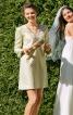 Сукня А-силуету з рукавами-розтрубами - фото 1