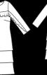 Сукня шифонова А-силуету - фото 3