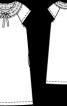 Сукня міні А-силуету - фото 3