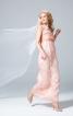 Сукня А-силуету з бандо і рукавами-крильцями - фото 1