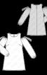 Сукня з довгими рукавами і відкритими плечима - фото 3