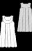 Сукня А-силуету на фігурній кокетці  - фото 3