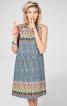 Сукня А-силуету з кантом в рельєфних швах - фото 1