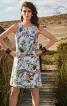 Сукня-футляр А-силуету з рельєфними швами - фото 1