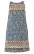 Сукня А-силуету з кантом в рельєфних швах - фото 2
