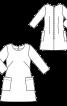 Сукня А-силуету з рукавами 3/4 - фото 3