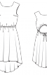 Сукня асиметричного крою - фото 3