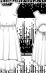 Сукня з асиметричним низом і вирізом на спинці - фото 3