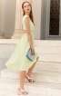 Сукня з асиметричним низом і вирізом на спинці - фото 1