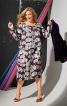 Сукня багатоярусна з вирізом-човником - фото 1