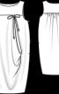 Сукня-балон на кокетці - фото 3