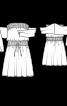 Сукня-бандо трикотажна - фото 3