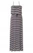 Сукня максі трикотажна на тонких бретелях - фото 2