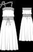 Сукня максі трикотажна на тонких бретелях - фото 3