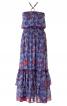 Сукня максі з буфами і воланами - фото 2