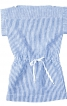 Сукня прямого крою із зав'язкою на талії - фото 2