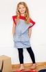 Сукня прямого крою з кокетками - фото 1