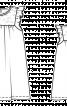 Сукня розкльошена на кокетці - фото 3