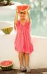 Сукня силуету ампір з рукавами-крильцями - фото 1
