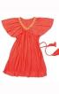 Сукня силуету ампір з рукавами-крильцями - фото 2