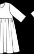 Сукня із завищеною талією - фото 3