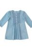 Сукня відрізна зі стьобаним пластроном - фото 2