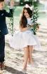 Сукня трикотажна з нижньою спідницею - фото 1