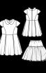 Сукня трикотажна з нижньою спідницею - фото 3