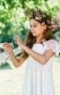 Сукня максі з рукавами-крильцями - фото 4