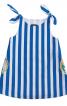 Сукня А-силуету на бретелях - фото 2