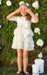 Сукня відрізна з пишними оборками - фото 1
