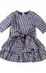 Сукня з пишною спідницею і поясом-бантом - фото 2