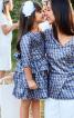 Сукня з пишною спідницею і поясом-бантом - фото 1