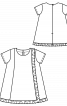 Сукня А-силуету з оборками - фото 3