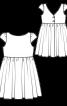Сукня мереживна з пишною спідницею - фото 3
