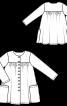 Сукня-сорочка із наскрізною застібкою - фото 3