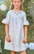 Сукня силуету ампір з оборками на рукавах - фото 1