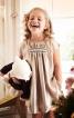 Сукня без рукавів зі зборками - фото 1