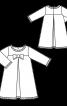 Сукня вельветова А-силуету - фото 3