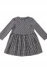 Сукня в клітину з пишною спідницею - фото 2