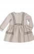 Сукня відрізна з ручною вишивкою - фото 2