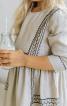 Сукня відрізна з ручною вишивкою - фото 4