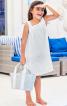 Сукня розкльошена на бретелях - фото 1