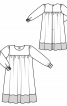 Сукня пишного крою на кокетці - фото 3