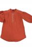 Сукня з коміром-стійкою і вишивкою - фото 2