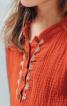 Сукня з коміром-стійкою і вишивкою - фото 5